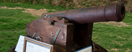 19th century cannon at the Bellingham Maritime Museum