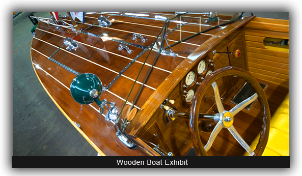 Wooden Boat Exhibit