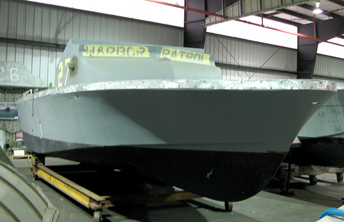 PBR Mark II Hull 31RP7210 museum restoration project
