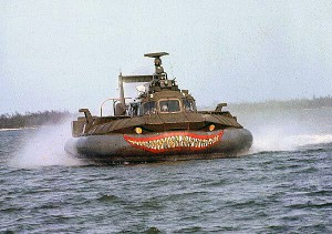 PACV Hovercraft combat vehicle from the Vietnam Conflict